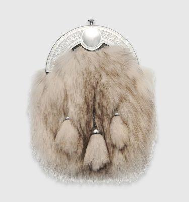 Artic Fox Dress Sporran