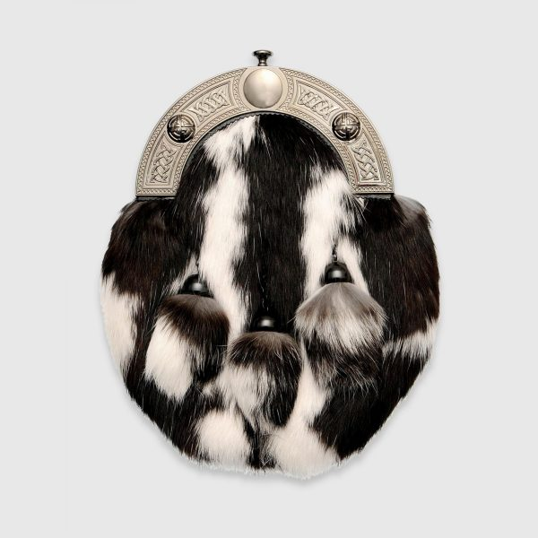 Two Tone Rabbit Dress Sporran