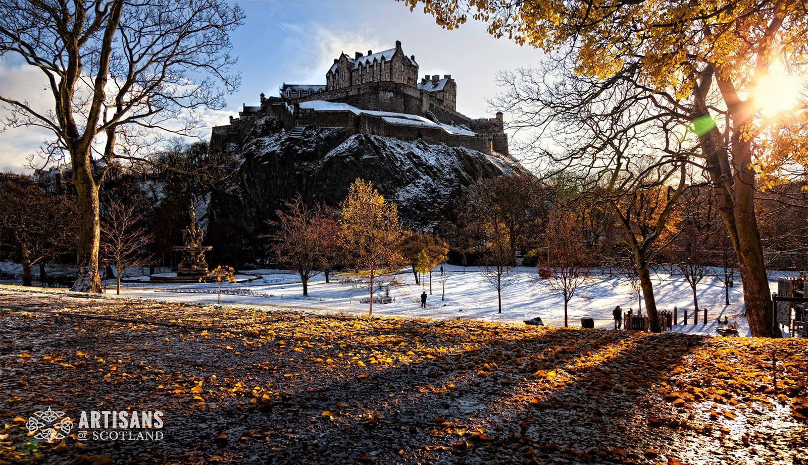 Edinburgh Castle - The most beautiful places in Scotland