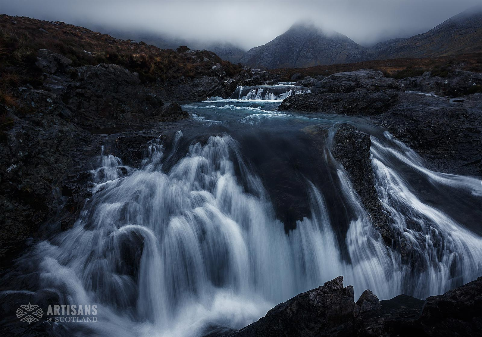 Fairy Pools Isle of Skye - The most beautiful places in Scotland.