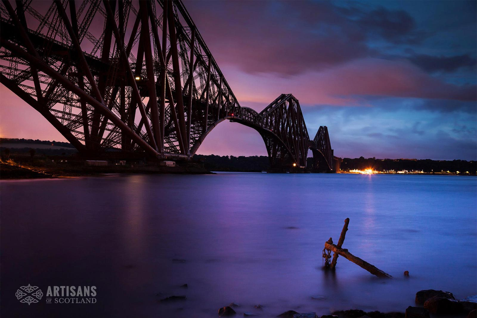 Forth Rail Bridge - The most beautiful places in Scotland