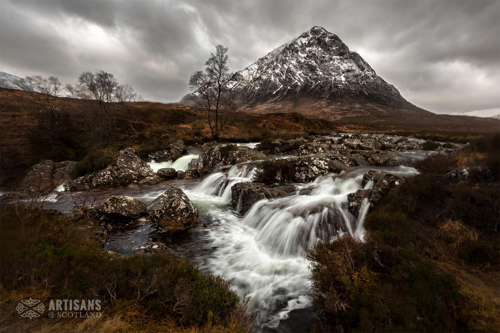 Glen Etive Autumn - The most beautiful places in Scotland