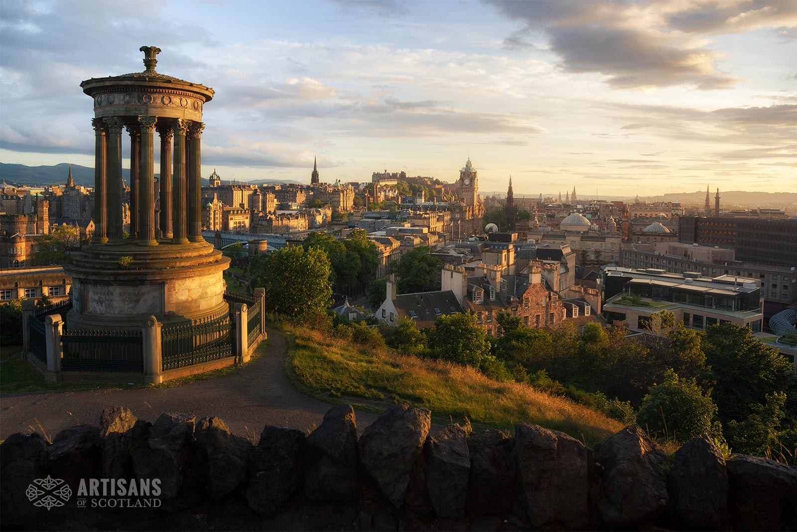 Nelson Monument Edinburgh - The most beautiful places in Scotland