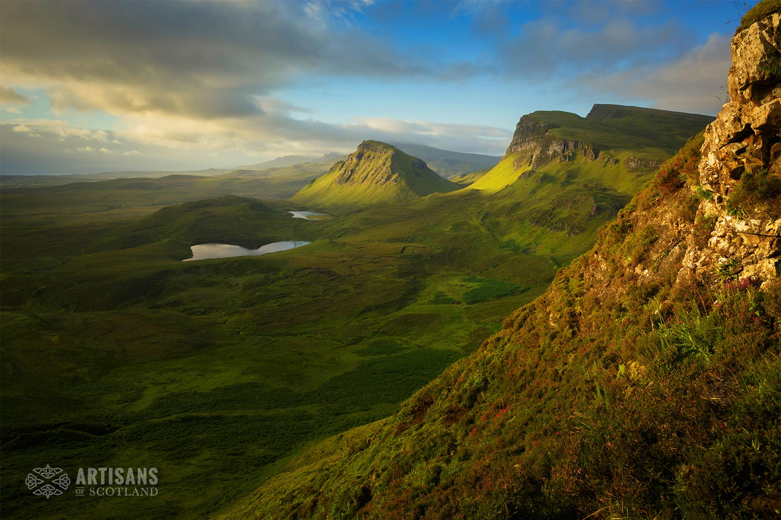 Quirrang - Isle of Skye - The most beautiful places in Scotland