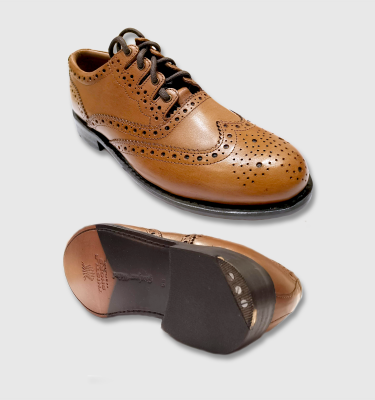 Kilt Brogues - Luxury (Brown)