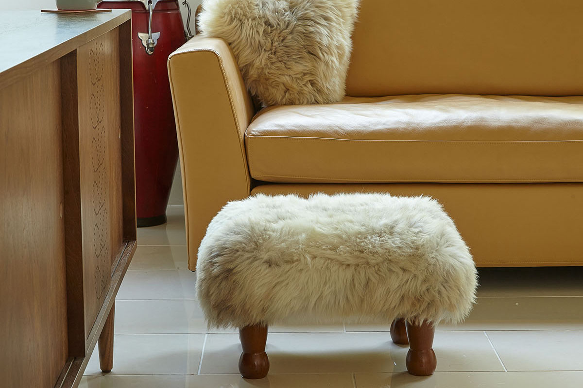 Baa-Stool-and-Cushion
