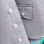 Tweed Kilt Jacket - Cuffs