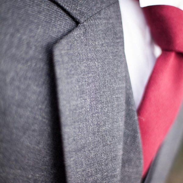 Tweed Kilt Jacket - Lapel