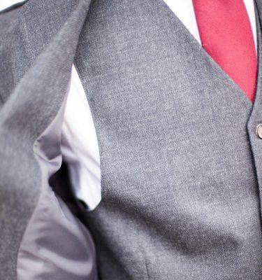 Tweed Kilt Jacket - Charcoal