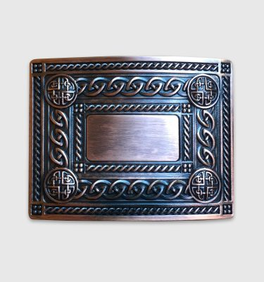 Copper Celtic Belt Buckle