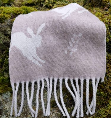 Hare Throw - Fawn Product Shot two