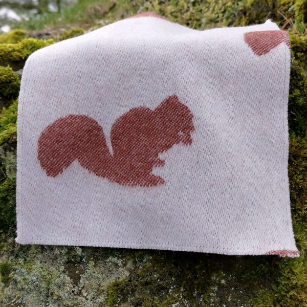 Squirrel Throw Product Shot